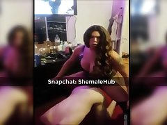 Shemale Fucking Her Amateur Slave